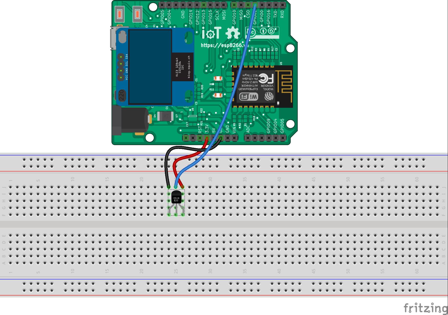 Onewire — Tài liệu Lập trình IoT với ESP8266 Arduino 1 0
