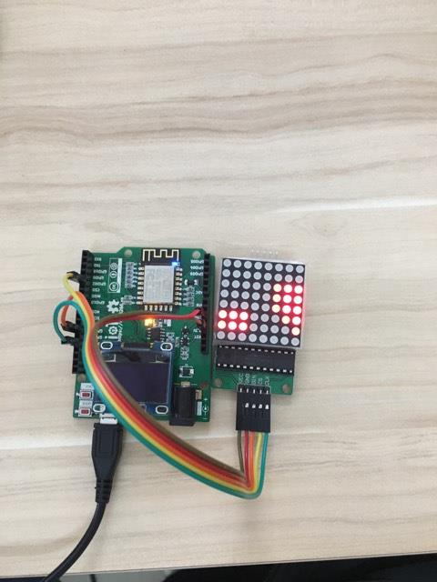 Hiển thị ký tự với module led matrix MAX7219 — Tài liệu Lập trình